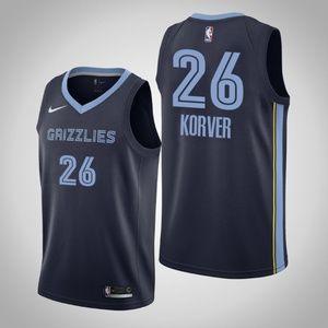 Men's Memphis Grizzlies #26 Kyle Korver Jersey